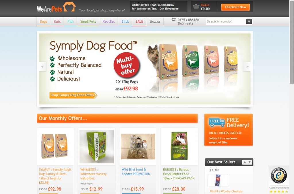We Are Pets - Online Pet Food & Accessory Supplier