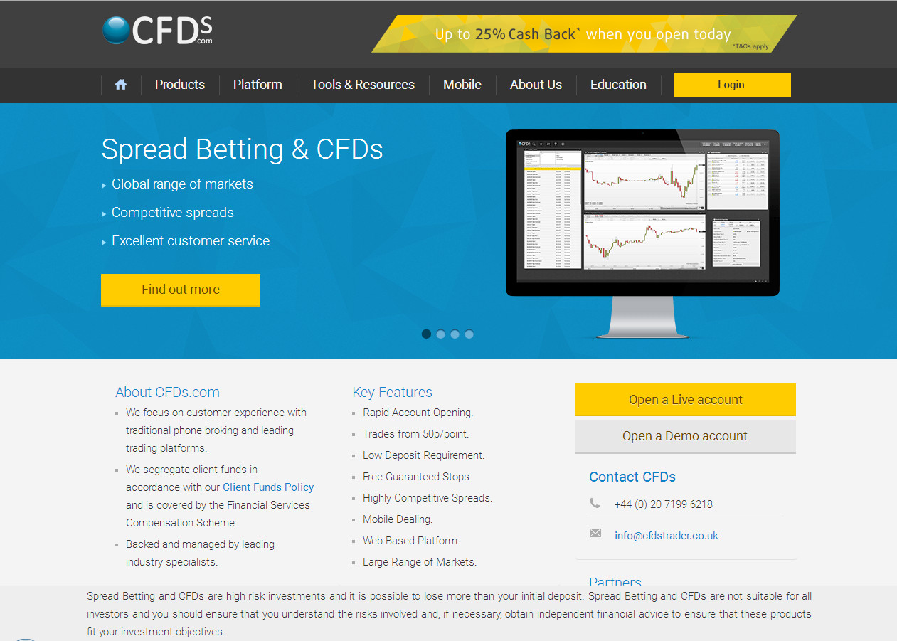 CFDs - Financial Services