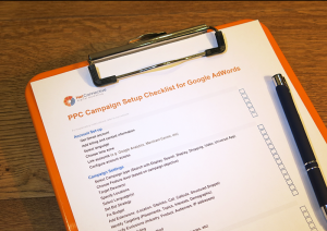 PPC campaign setup checklist for google adwords