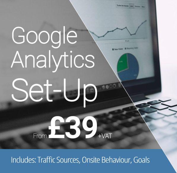Google Analytics Setup Service from £39